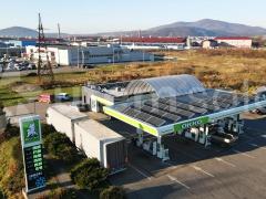 Сонячна електростанція 15 кВт на АЗК ОККО в м. Мукачево, Закарпатська область