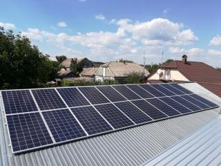 Солнечная сетевая станция 30 кВт под Зеленый тариф в г. Сокиряны, Черновицкая область