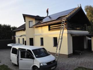 Солнечная установка для Зеленого тарифа 3,5 кВт, Вышгородский р-н, Киевская обл.