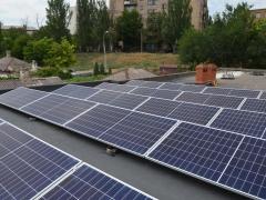 Солнечная электростанция мощностью 30 кВт под зеленый тариф в г. Мариуполь, Донецкая область