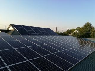 Солнечная электростанция 30 кВт в г. Бахмут, Донецкая область