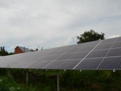 Наземная солнечная электростанция мощностью 30 кВт c cолнечными панелями Canadian 400W под зеленый тариф в г. Славянск, Донецкая область
