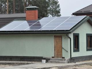 Мережева сонячна установка 15 кВт в с. Нещеров, Київська область