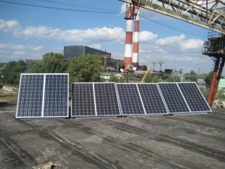 Гибридная фотоэлектрическая система 1,5 кВт, Киев