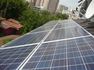 Фотоэлектрическая система 5 кВт для экономии электроэнергии на проспекте Науки