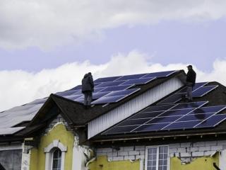 Солнечная электростанция 12 кВт на Софиевской Борщаговке