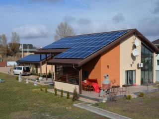 Солнечная электростанция 30 кВт в Гостомеле, 2-я очередь