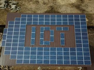 Солнечная электростанция 27 (PV 35,64) кВт в пгт. Гостомель, Киевская область