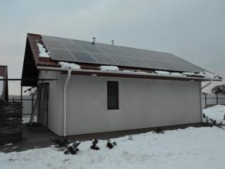 Солнечная электростанция мощностью 25 кВт в Горенке, Киевская область. 1-я очередь