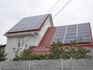 Сетевая солнечная электростанция 10 кВт для Зеленого Тарифа в Черниговской области