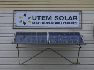 Мікроінверторная мережева установка для тестування продуктивності сонячних батарей.