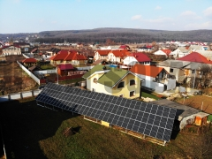 Наземная солнечная станция 30 кВт под зеленый тариф в Ужгороде
