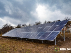 Наземна сонячна електростанція 30 кВт під Зелений тариф в м. Ромни, Сумська область (1-а черга)