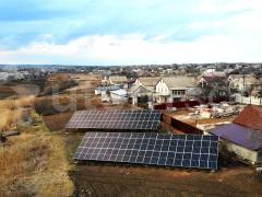 Солнечная станция под зеленый тариф 45 кВт в пгт Бильмак, Запорожская область