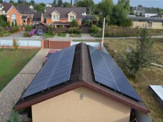Cолнечная установка 30 кВт с фотоэлектрическими модулями Kyocera в Гостомеле