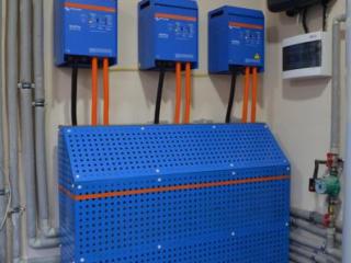 3-х фазная система бесперобойного  питания Victron Energy в Буче.