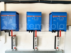 3-х фазная система автономного электропитания Victron Energy 24 кВт в с. Гута, Киевская область