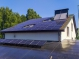 Крышная солнечная электростанция мощностью 15 кВт под зеленый тариф в г. Чернигов (с 3D моделью)