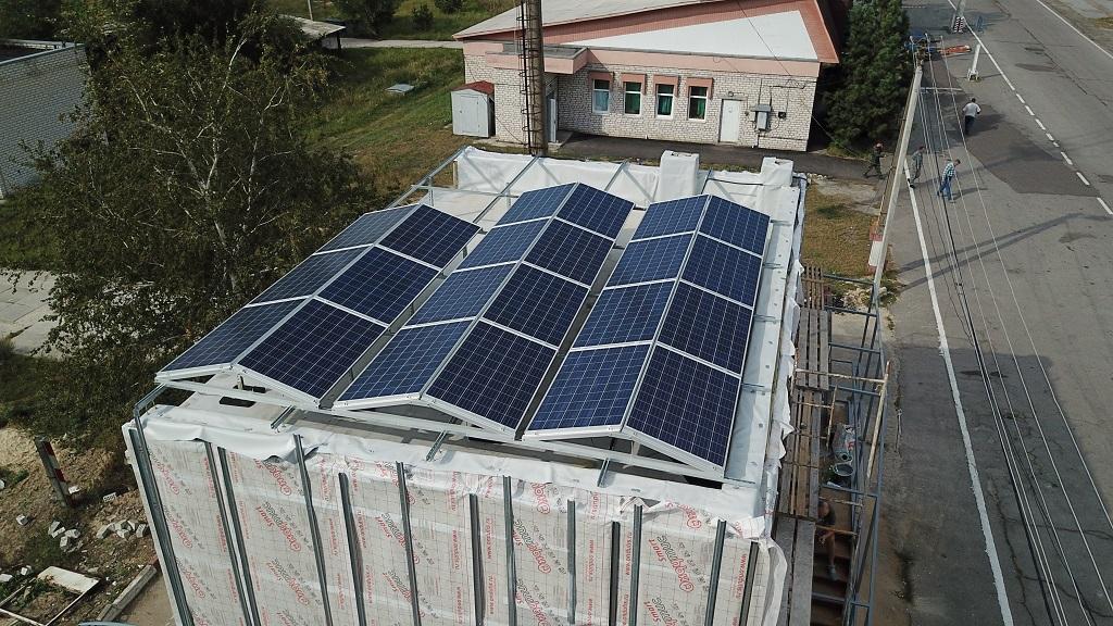 Новый вектор развития. В Чернобыльской зоне отчуждения появилась солнечная электростанция.