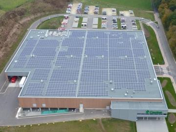 Супермаркеты установили 7,5 тысяч солнечных батарей на своих крышах.