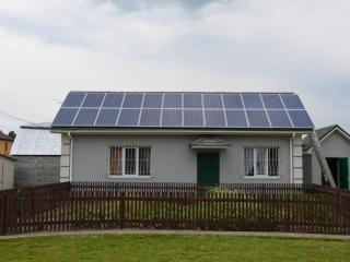 Крышная солнечная установка 10 кВт
