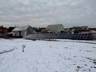 Солнечная электростанция для дома 30 кВт UTEM SOLAR