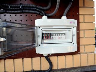 Автоматика защиты для солнечной установки
