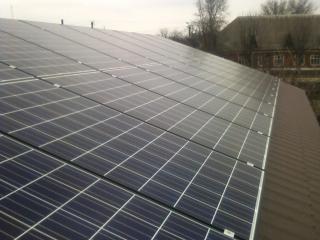 Солнечные батареи для Зеленого Тарифа