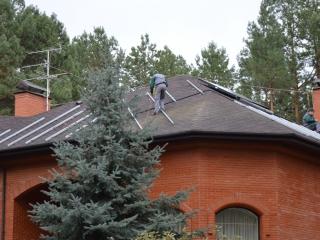 Монтаж систем крепления для солнечных батарей