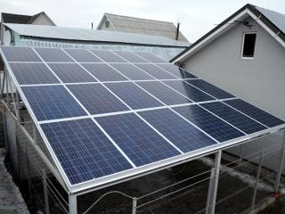 Навес из солнечных батарей UTEM SOLAR