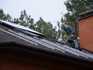 Конструкция для солнечной электростанции