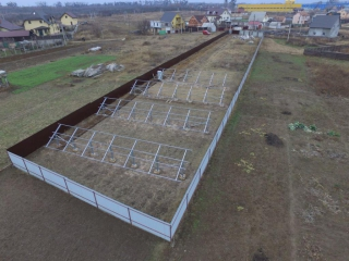 Наземная установка конструкций для солнечных батарей - UTEM SOLAR