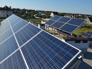 Солнечная установка в с. Большая Александровска
