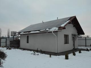 Солнечная электростанция в с. Горенка - UTEM SOLAR