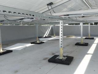 Солнечная электростанция плоская кровля UTEM SOLAR