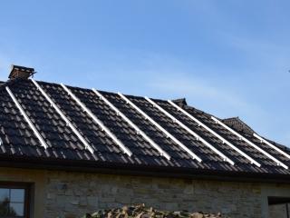 Установка систем крепления для солнечных панелей