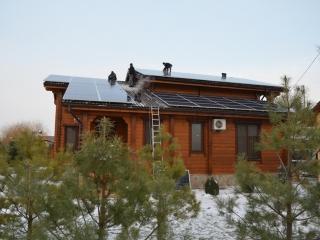 Монтаж солнечных батарей UTEM SOLAR