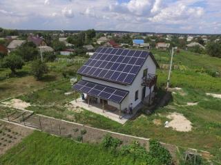 Солнечная єлектростанция LONGi SOLAR