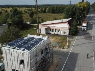 Солнечная электростанция Чернобыль UTEM SOLAR