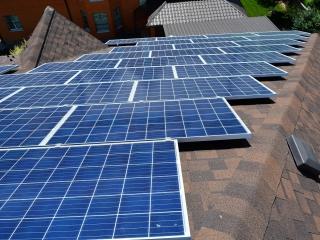 Сонячна електростанція на даху приватного будинку - UTEM SOLAR