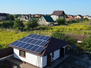 Солнечные батареи в Бориспольском районе