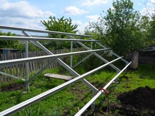 Наземная конструкция для солнечных батарей - UTEM SOLAR