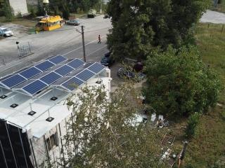 Сонячна електростанція плоска покрівля