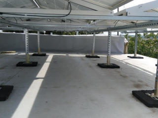Сонячна електростанція плоска покрівля UTEM SOLAR