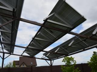 Навес из солнечных батарей - UTEM SOLAR
