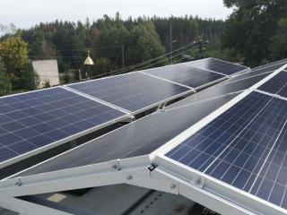 Солнечная электростанция Восток Запад
