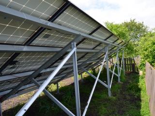 Наземная конструкция для солнечных батарей - UTEM