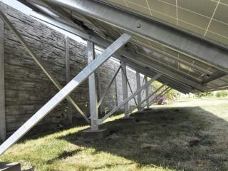 Конструкция наземной фотоэлектрической установки