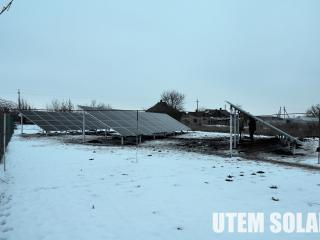 Солнечная электростанция Краматорск