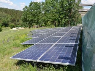 Солнечная электростанция Обухов